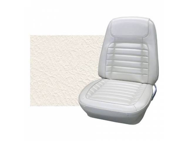 Upholstery Set Premium Rear Seat Dlx Frost White