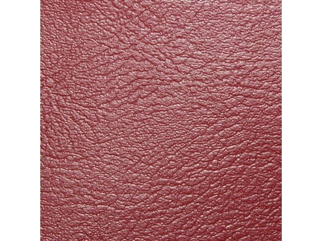 Upholstery Set Premium Rear Seat Dlx Red Madrid
