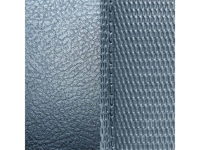 Upholstery Set Premium Rear Seat Dlx Metallic Blue
