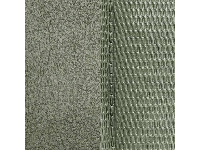 Upholstery Set Premium Rear Seat Dlx Light Metallic