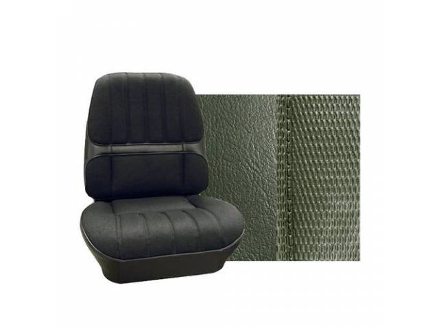 Upholstery Set Premium Rear Seat Dlx Metallic Green