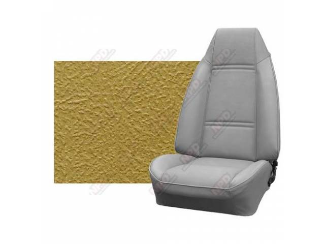 Upholstery Set Premium Rear Seat Dlx Saddle Haircell