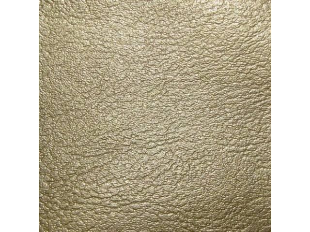 Upholstery Set Front Buckets Std Gold Madrid Grain
