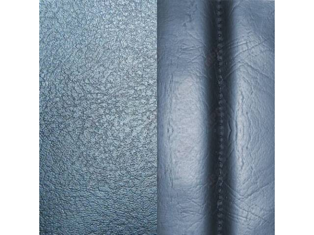 Upholstery Set Front Buckets Std Dark Blue Madrid
