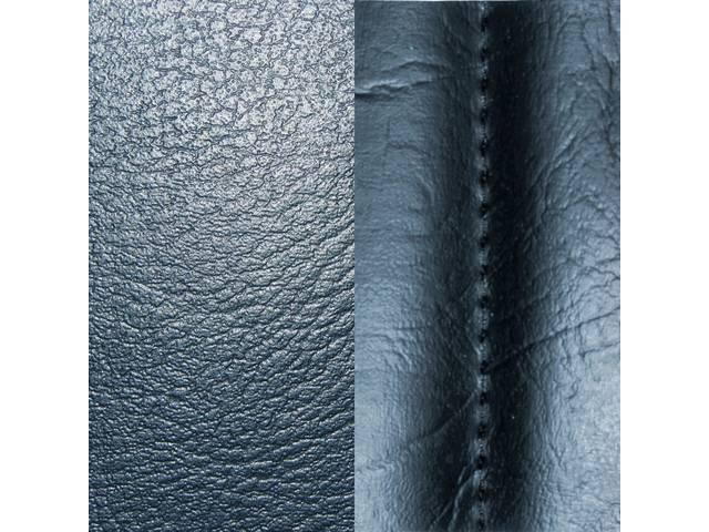 Upholstery Set Premium Front Buckets Std Dark Blue
