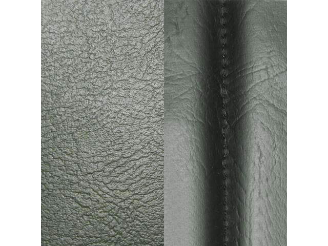Upholstery Set Premium Front Buckets Std Dark Green
