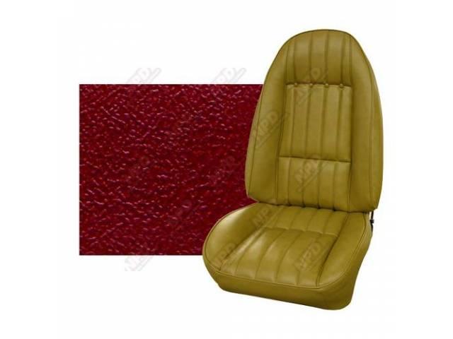 Upholstery Set Premium Front Buckets Std Carmine Sierra