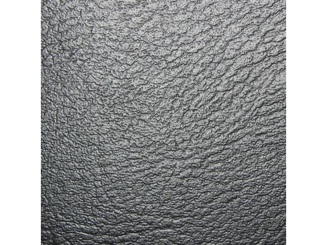 Upholstery Set Premium Rear Seat Std Black Madrid