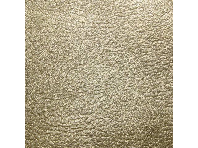 Upholstery Set Premium Rear Seat Std Gold Madrid