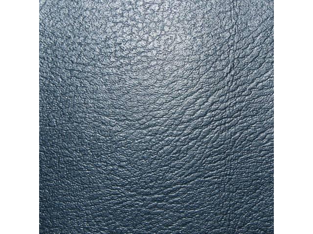 Upholstery Set Premium Rear Seat Std Metallic Blue