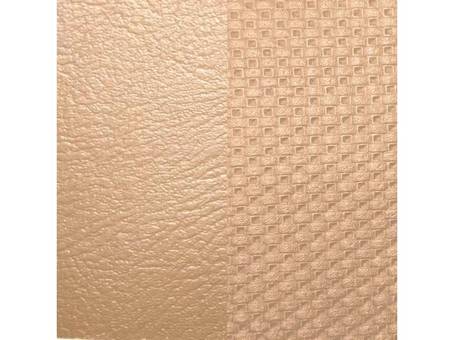 Upholstery Set Premium Rear Seat Std Sandalwood Madrid