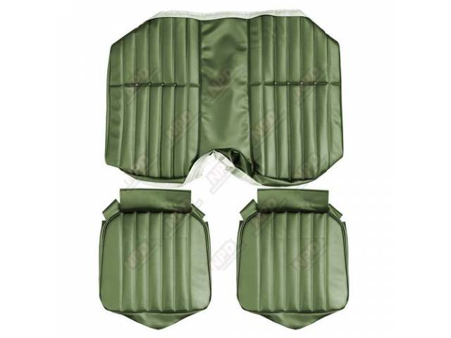 Upholstery Set Premium Rear Seat Std Jade Green