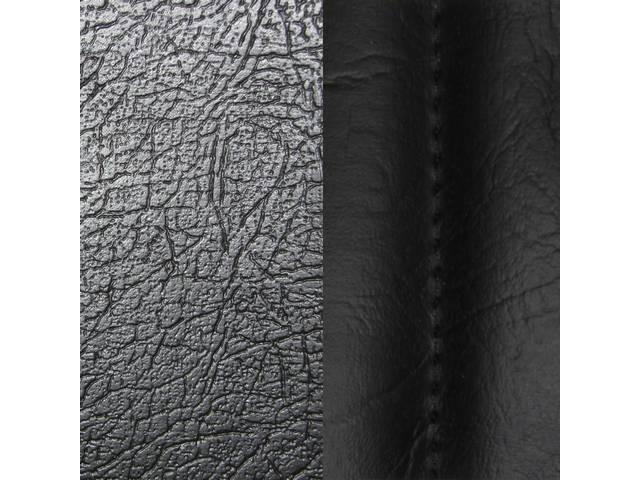 Upholstery Set Premium Rear Seat Std Black Sierra