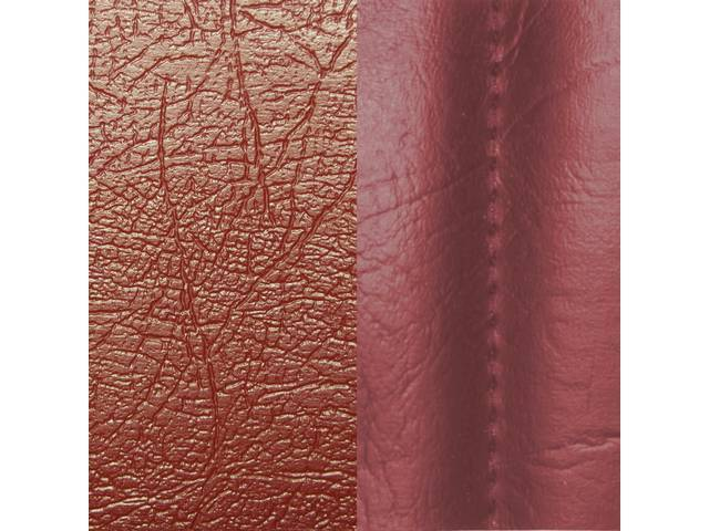Upholstery Set Premium Rear Seat Std Red Sierra