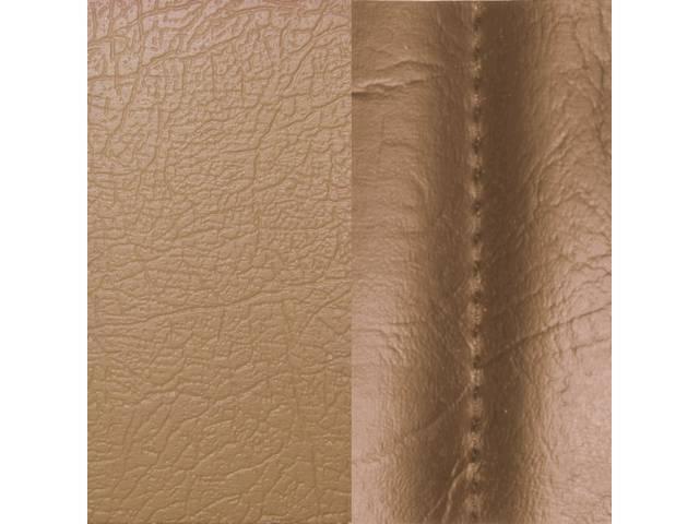 Upholstery Set Premium Rear Seat Std Camel Tan