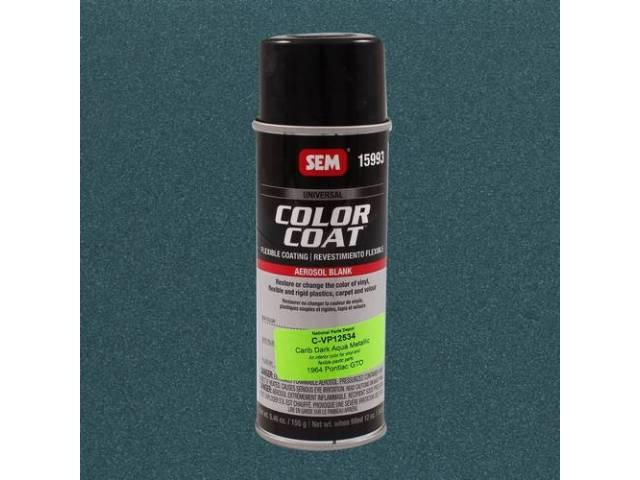 Interior Vinyl Dye Caribbean Dark Aqua Metallic 12