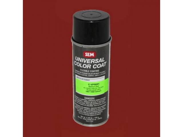 Interior Vinyl Dye Medium Red Regimental Red 12
