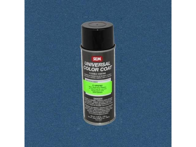 Interior Vinyl Dye Medium Bright Blue Metallic 12