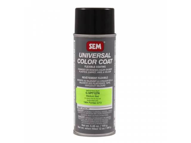 Interior Vinyl Dye Medium Red 12 Fluid Ounce