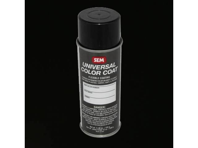 Interior Vinyl Dye Black 12 Fluid Ounce Spray