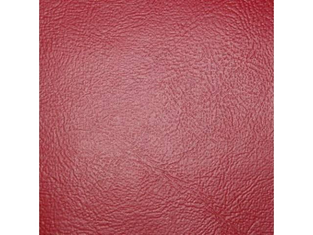 VINYL YARDAGE, Sierra Grain, Bright Red, 54 inch