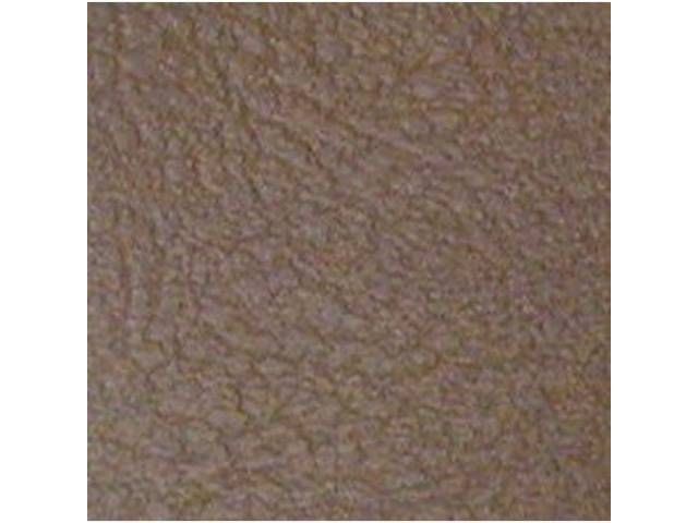 Vinyl Yardage Madrid Grain Dark Saddle 54 Inch