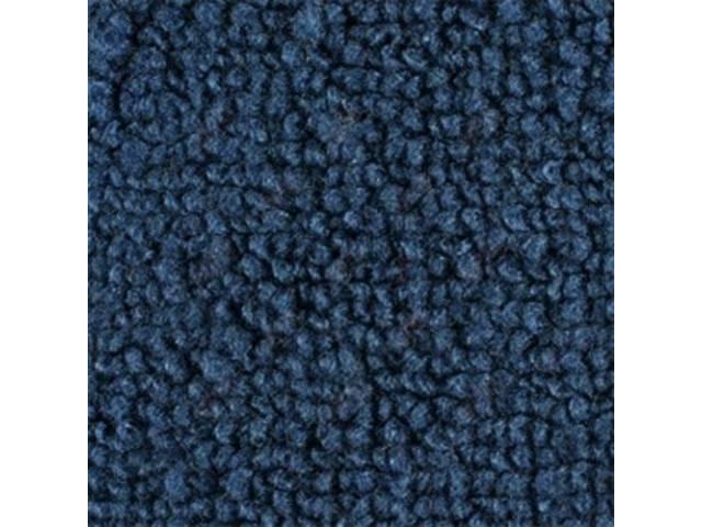 CARPET, Raylon Weave, medium blue, without toe pad