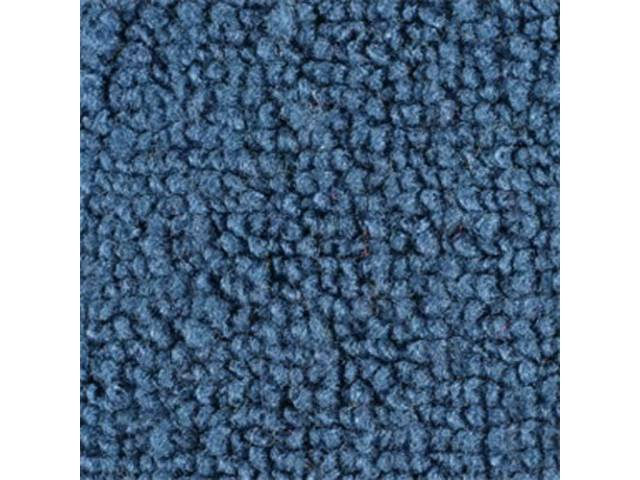 CARPET LOOPED NYLON WEAVE 70 MEDIUM BLUE WITHOUT