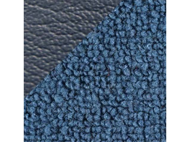 CARPET LOOPED NYLON WEAVE 70 BLUE W/ 2