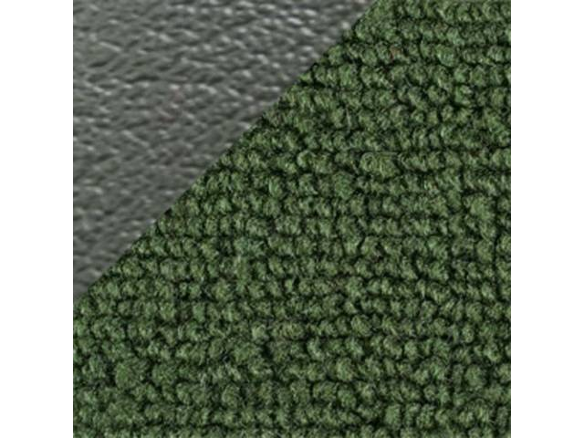 CARPET, LOOPED NYLON WEAVE, 70 DARK OLIVE GREEN