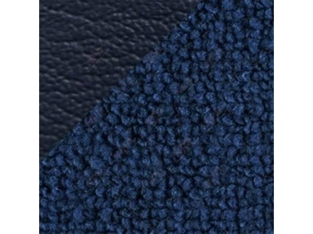 CARPET Raylon Weave medium blue w/ 2 blue