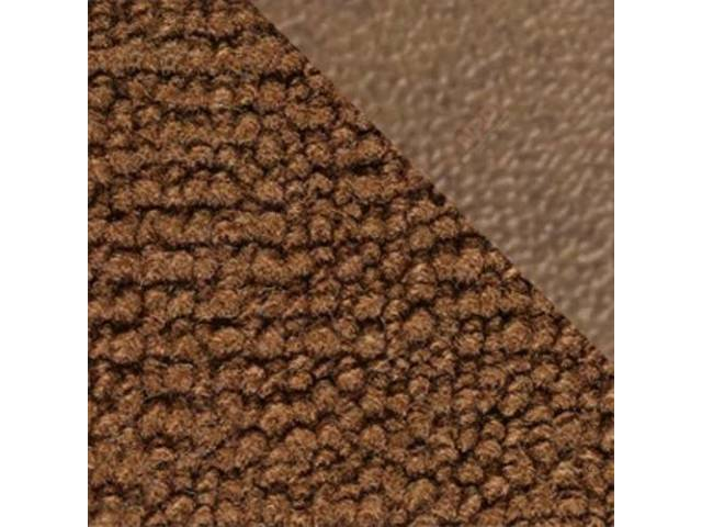 CARPET, MASS BACKED RAYLON WEAVE