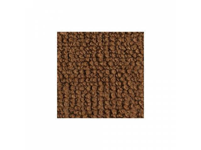 CARPET 100 PERCENT NYLON LOOP 70 GINGER WITHOUT