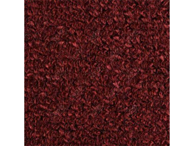 CARPET Raylon Weave maroon w/o toe pad mass