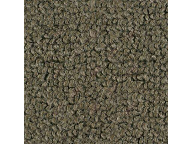 CARPET, Raylon Weave, ivy green, without toe pad