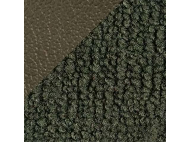 CARPET LOOPED NYLON WEAVE 71-3 DARK GREEN W/