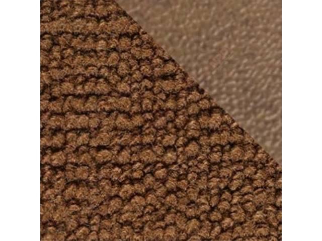 CARPET Raylon Weave ginger w/ 2 ginger inserts