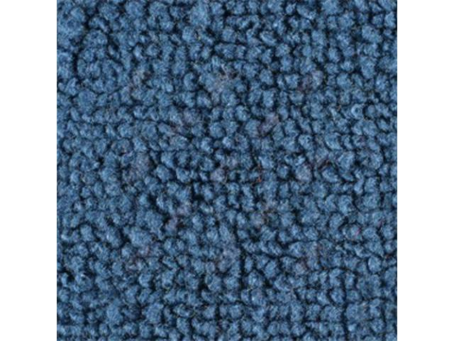 CARPET, Raylon Weave, medium blue, mass backed, *