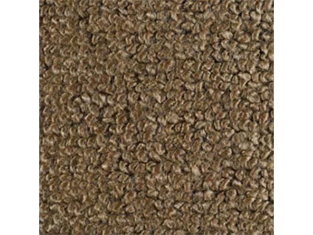 CARPET RAYLON WEAVE 64 1/2 LIGHT SADDLE COUPE