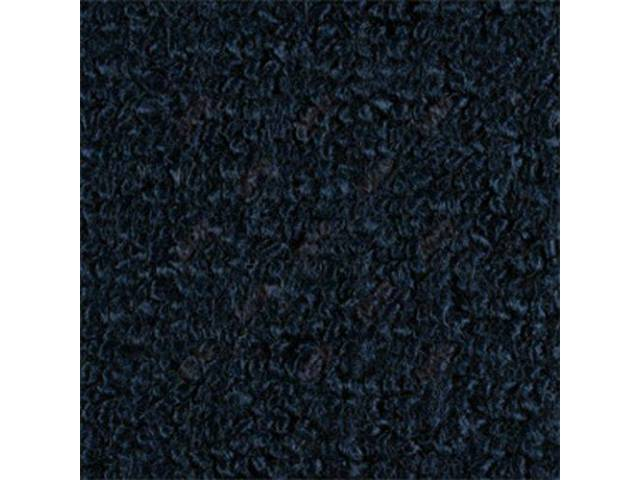 CARPET, RAYLON WEAVE, 64 1/2 DARK BLUE COUPE,