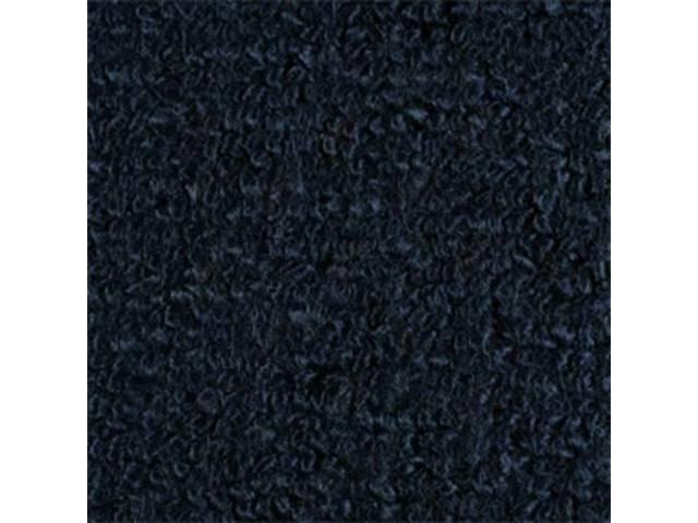 CARPET RAYLON WEAVE 64 1/2 DARK BLUE COUPE