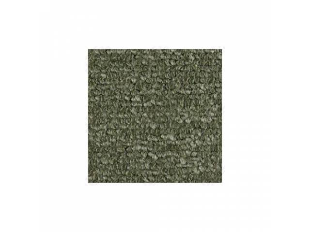 CARPET RAYLON WEAVE MOSS GREEN WHEN OUT GOTO