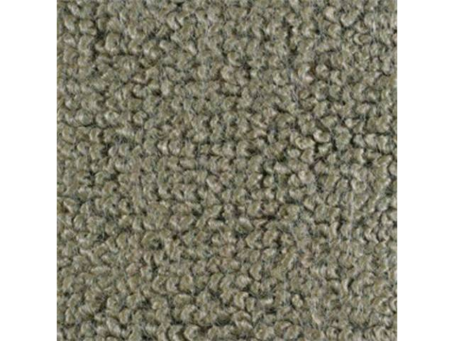 CARPET RAYLON WEAVE IVY GOLD mass backed This