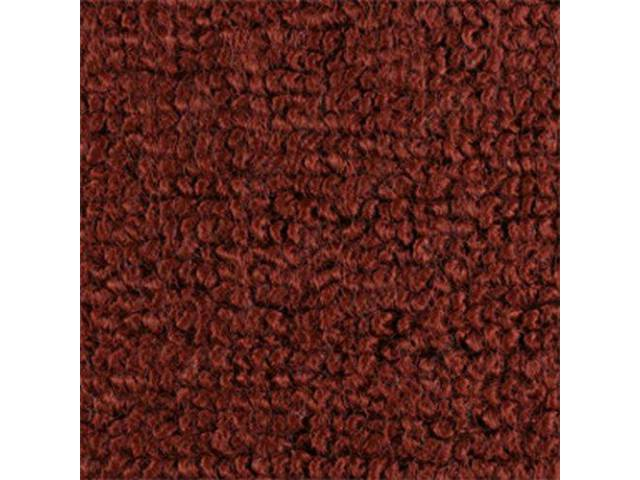 CARPET RAYLON WEAVE EMBERGLOW mass backed This item