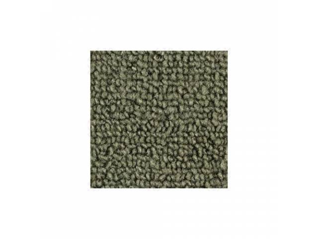 CARPET LOOPED NYLON WEAVE 65-68 MOSS GREEN FRONT
