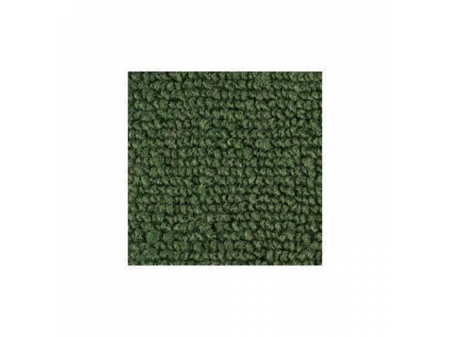 CARPET LOOPED NYLON WEAVE 65-68 DARK GREEN FRONT