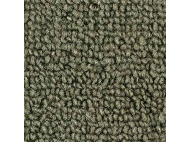 CARPET LOOPED NYLON WEAVE MOSS GREEN when out