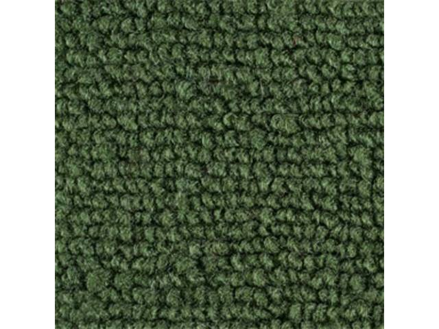 CARPET LOOPED NYLON WEAVE DARK GREEN when out