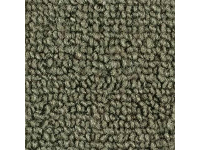 CARPET LOOPED NYLON WEAVE 65-68 MOSS GREEN CONVERTIBLE
