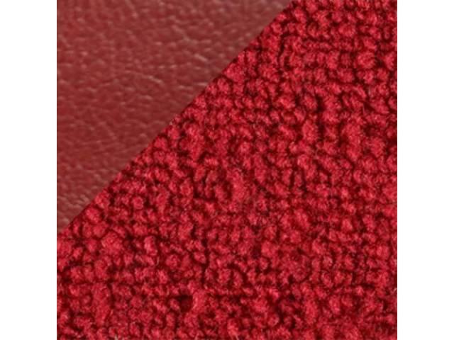 CARPET LOOPED NYLON WEAVE 69 RED W/ 4